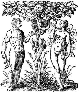 Representation of the Tree of Knowledge and Death (1587)